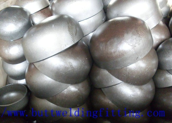 Carbon Steel / SS Butt Weld Pipe Cap ASTM A403 WP304 / 304L WP316 / 316L
