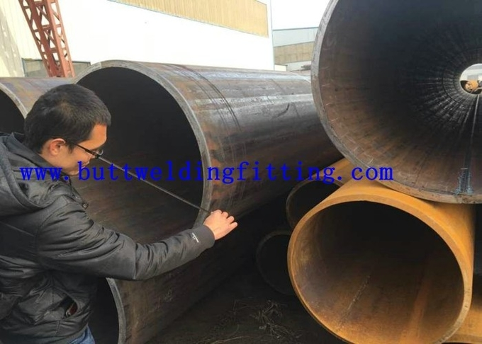 EN10210 S335J2H LSAW Pile API Carbon Steel Pipe / Welding Steel Pipe For Water Gas