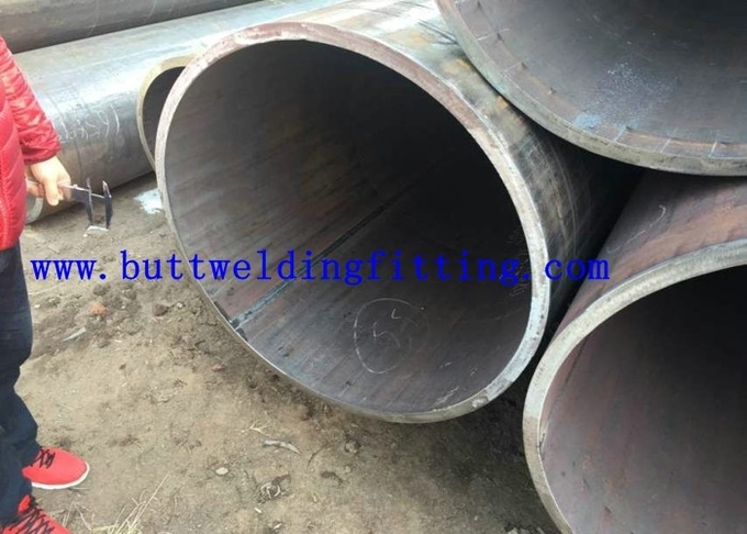 Carbon Steel LSAW Weld API Seamless Pipe S335J2H Steel 1/2 Inch To 32 Inch