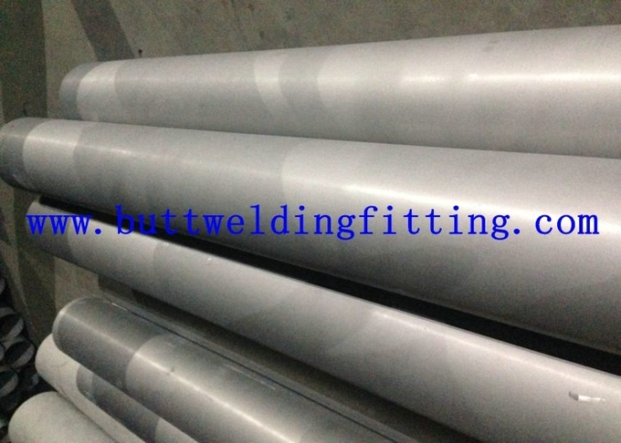 ASTM A554 ERW 316L Spiral Welded Steel Pipe Round Shaped With Painted Surface