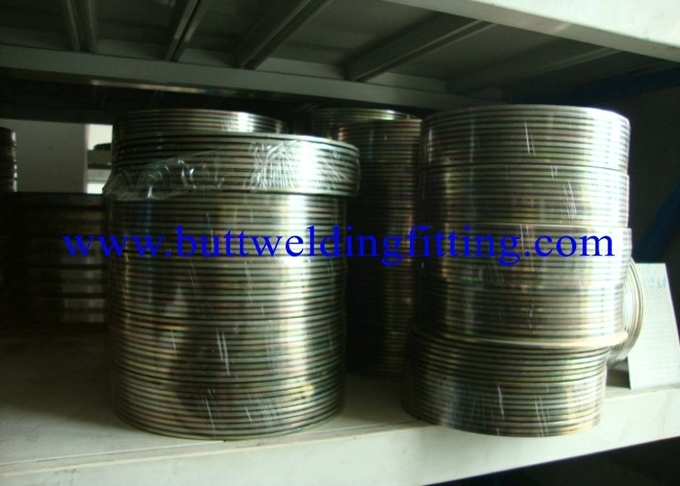316 Stainless Steel Spiral Wound Gasket / Corrugated Metal Gasket